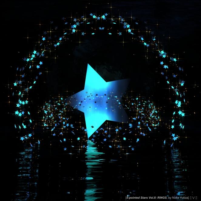 E.V.E Stars of 5-Points Vol.2 (Poster 01 BLUE)